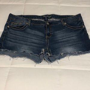 Amethyst Cut Off Jean Shorts